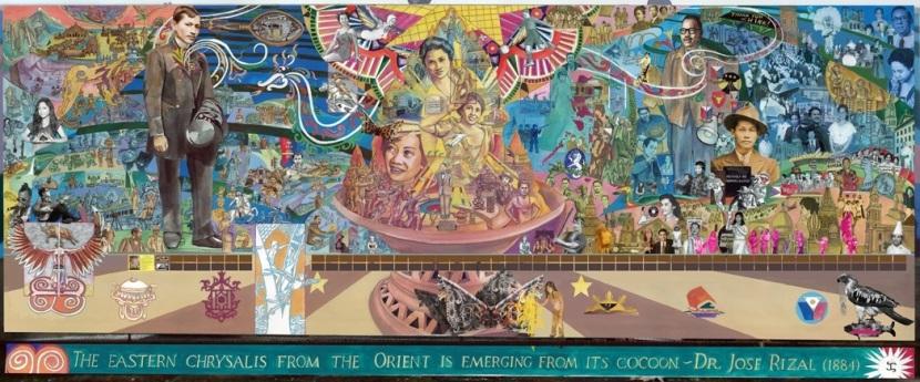 Filipino Mural ofPhiladelphia